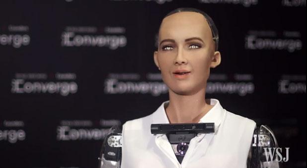 「人類を滅亡させる」と言ったAIロボット、「今は人類が好き」 - ITmedia NEWS