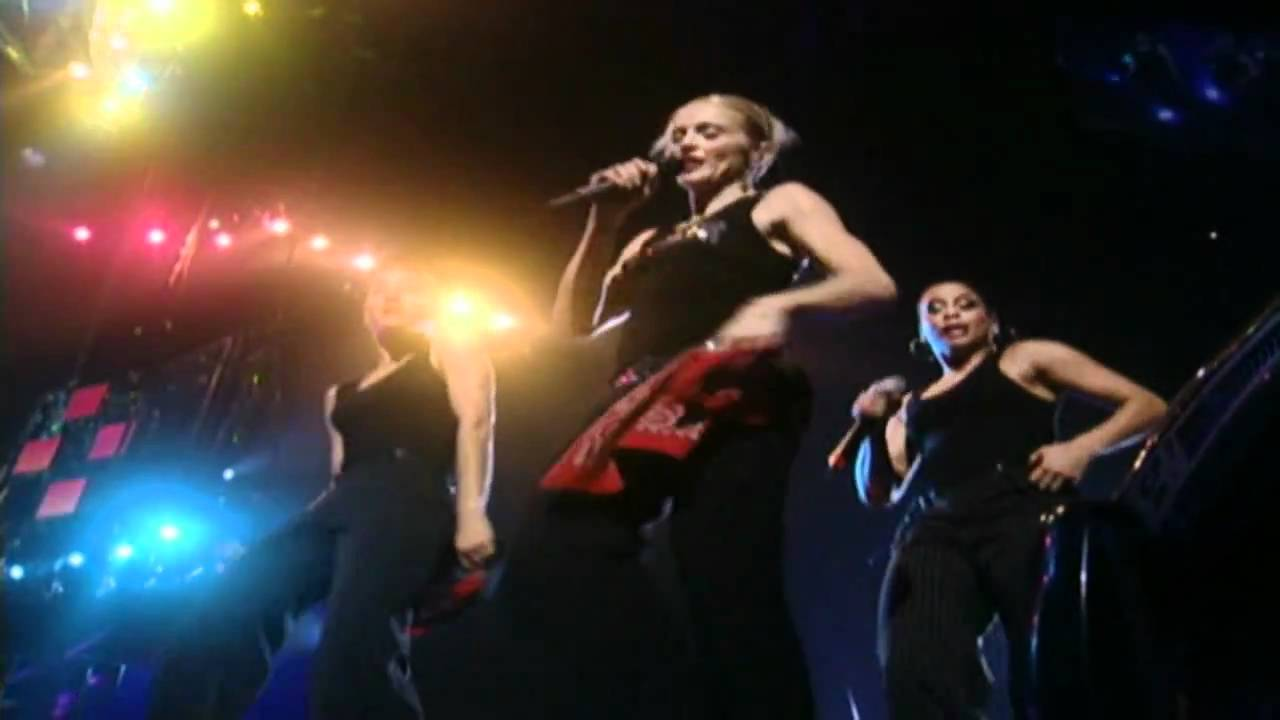 Madonna - Holiday (Drowned World Tour) - YouTube