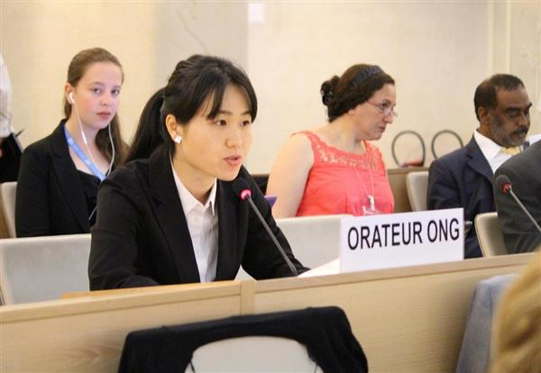 我那覇真子氏、国連人権理事会で演説「沖縄の人々の表現の自由が活動家やメディアに脅かされている」 - 産経ニュース