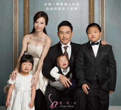 【台湾】「似てない家族写真」~整形外科の写真広告1枚で人生台無しになった美女モデル