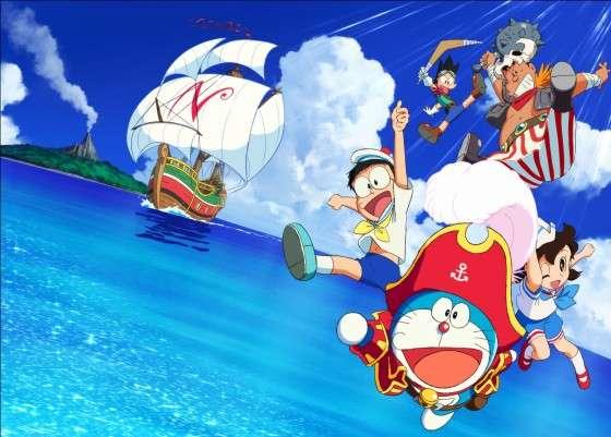 ドラえもん今度は大海原!『映画ドラえもん のび太の宝島』来年3月公開