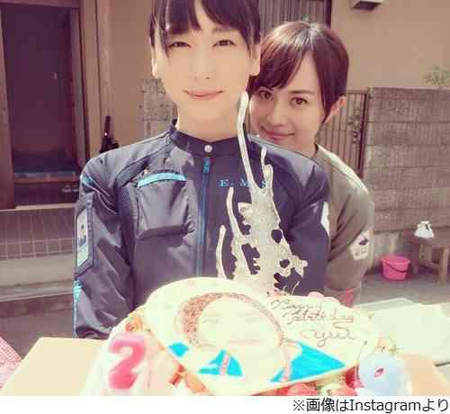 ガッキー誕生日を比嘉愛未ら祝福「大好きよ」 | Narinari.com