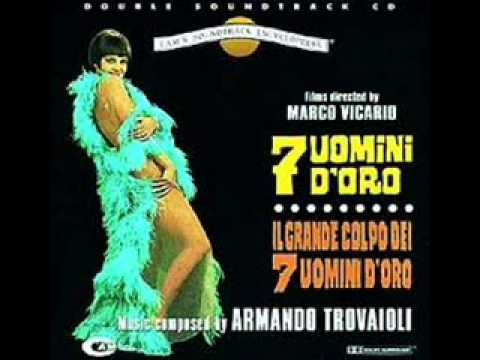 Armando Trovajoli - Seven Golden Men - YouTube