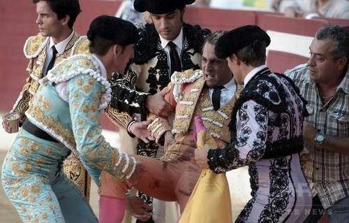 スペインの人気闘牛士、牛に角で刺されて死亡 フランス