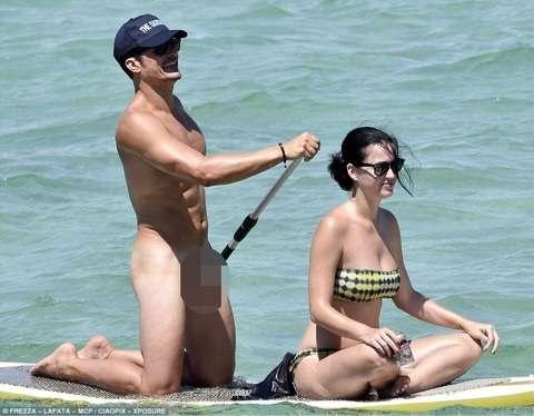 ケイティ・ペリー、元彼オーランドの全裸リークに「見せたかったんじゃない?」