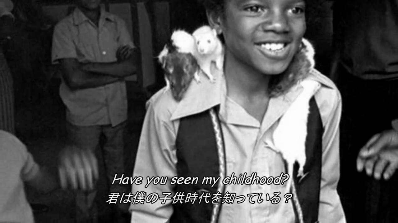 Michael Jackson - Childhood Lyrics 《日本語字幕》 - YouTube