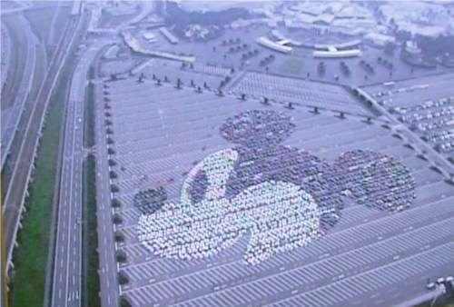 スマホで駐車位置を記録 東京ディズニーランドで新サービス『パーキング・メモ』導入
