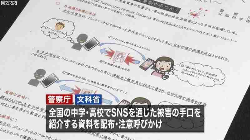 子どものSNS性被害 夏休み前に注意喚起(日本テレビ系(NNN)) - Yahoo!ニュース