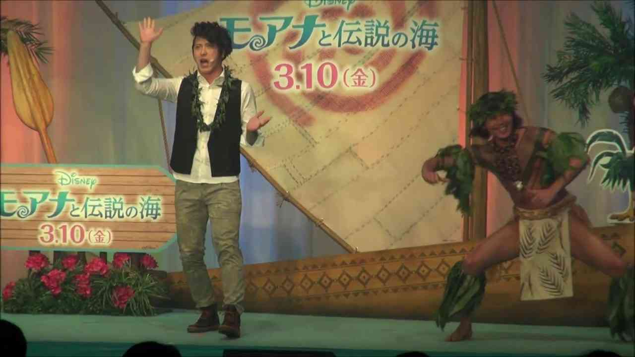 『モアナと伝説の海』尾上松也がマウイの歌『俺のおかげさ』を初披露! - YouTube