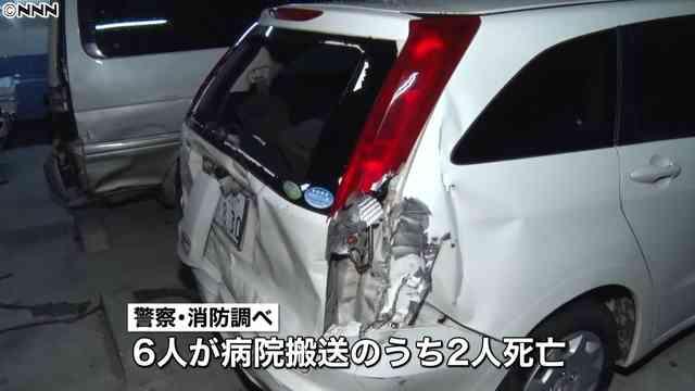 東名高速道路の下り線で車4台絡む事故 6人が搬送され、2人が死亡 - ライブドアニュース
