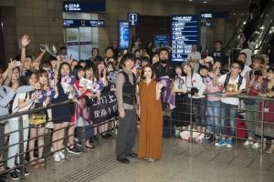 斎藤工、上海で警備員に怒られる 映画『昼顔』で上戸彩と訪中、ファン殺到