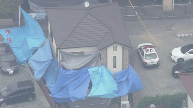住宅で死亡の母子3人 殺人事件と断定し捜査 福岡県警