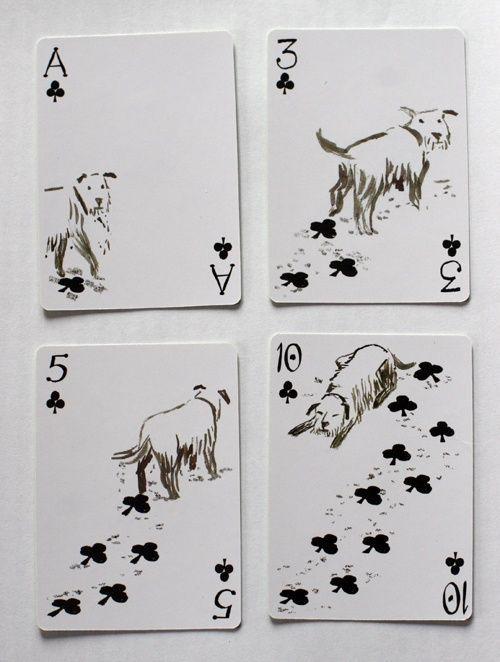「このデザインは思いつかなかった…」犬をテーマにしたトランプが人気を呼ぶ