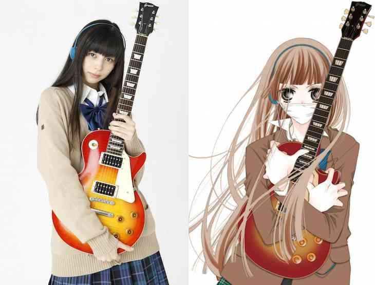 映画「覆面系ノイズ」中条あやみがニノ役、歌&ギターに挑戦!監督は三木康一郎