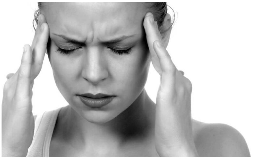 梅雨の時期の頭痛。