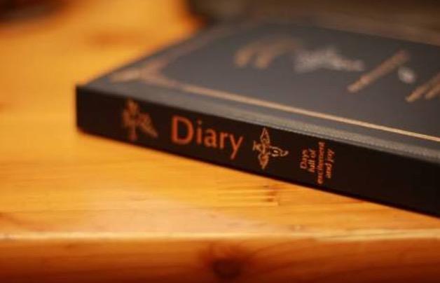 日記つけている方