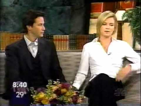 Keanu Reeves and Charlize Theron - Sweet November Interview 2001 - YouTube