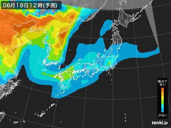 PM2.5分布予測 - 日本気象協会 tenki.jp
