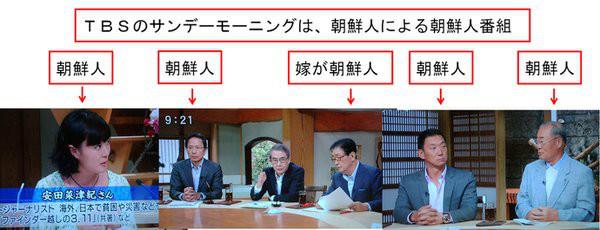 えっ!反日テレビの制作は一つの会社が作っていた。各局は在日の比率をオープンにすべきだ。 - さくらの花びらの「日本人よ、誇りを持とう」 - Yahoo!ブログ