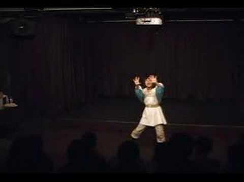 梅本真里恵シークレット一人芝居「風の谷のナウシカ」 1of14 - YouTube