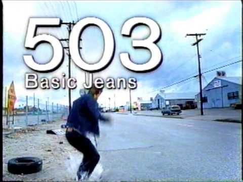 懐かしいCM エドウィン EDWIN ジーンズ 「503、505」 - YouTube