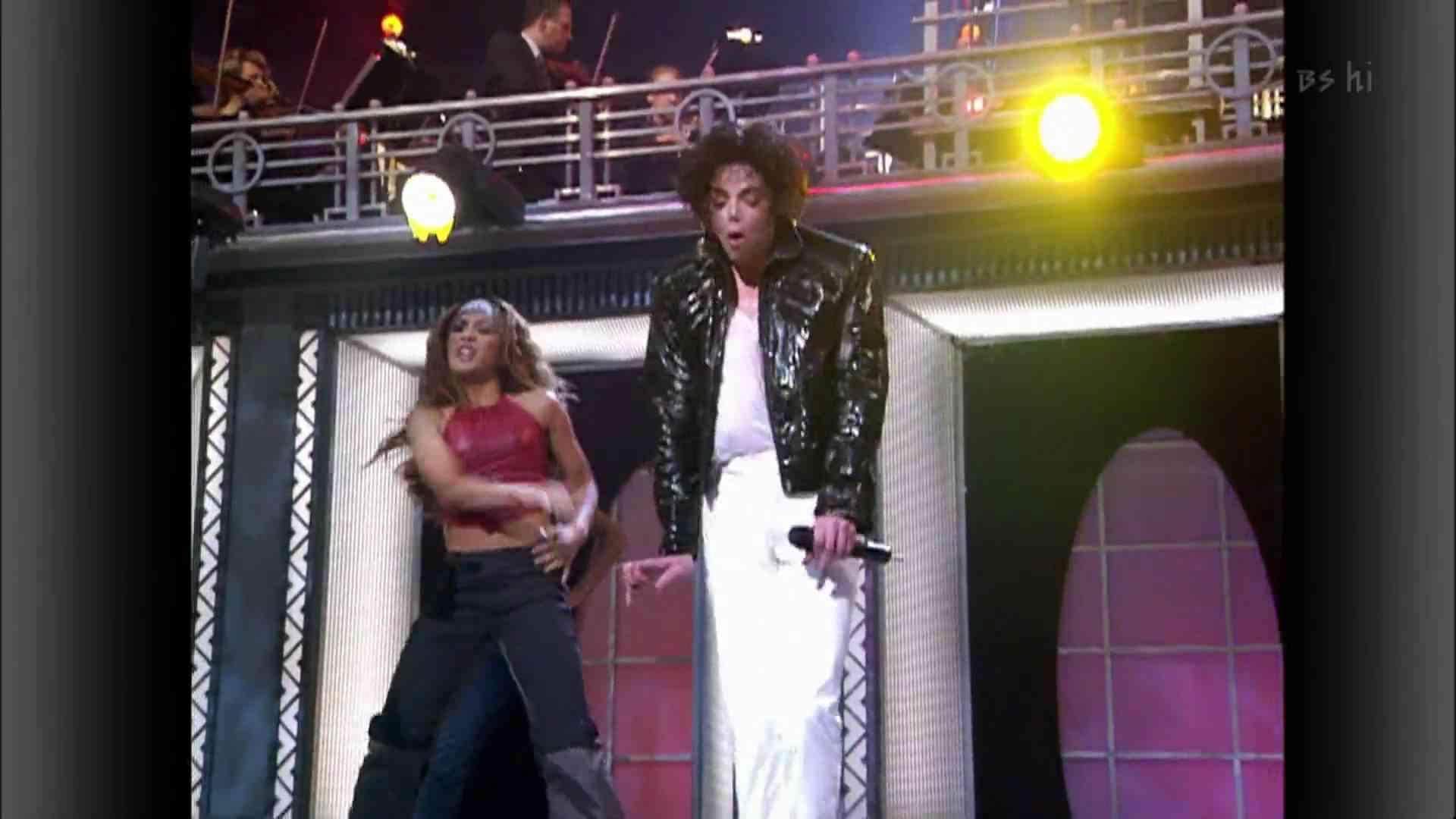 Michael Jackson ft Usher ft Chris Tucker - You Rock My World LIVE HD - YouTube