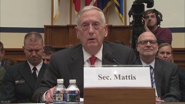 米 国防長官「北朝鮮への軍事行使は深刻な戦争に」 | NHKニュース