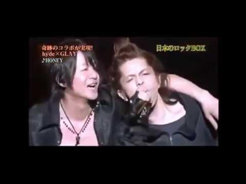 Glay x Hyde - Yuuwaku - Honey - YouTube