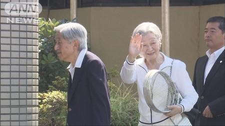 天皇皇后両陛下 思い出のコートでテニス楽しまれる (テレビ朝日系(ANN))のコメント一覧 - Yahoo!ニュース