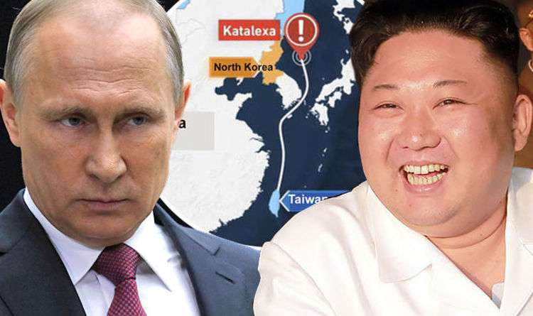 Russian yacht 'HIJACKED by North Korea' - Tensions threaten to explode | World | News | Express.co.uk