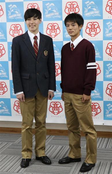 「国内初のデニム学生服」誕生!ジーンズ発祥の地の岡山・関西高校で