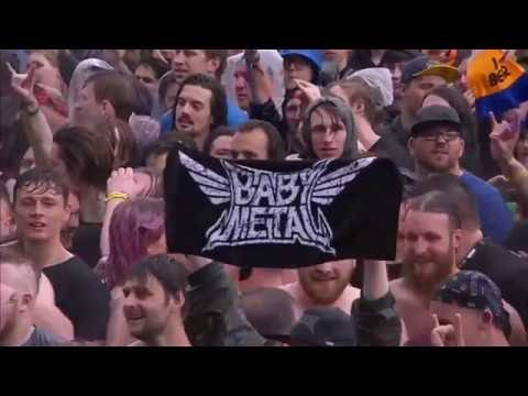 BABYMETAL-KARATE (live UK Download 2016) - YouTube