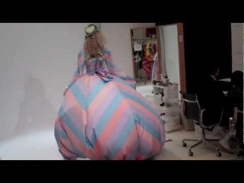 VICTORIA'S SECRET 2012: MAGDALENA FRACKOWIAK FITTINGS - YouTube