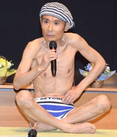 片岡鶴太郎、インド政府公認のヨガ検定合格&親善大使就任 体重も43キロに「Sサイズもブカブカ」