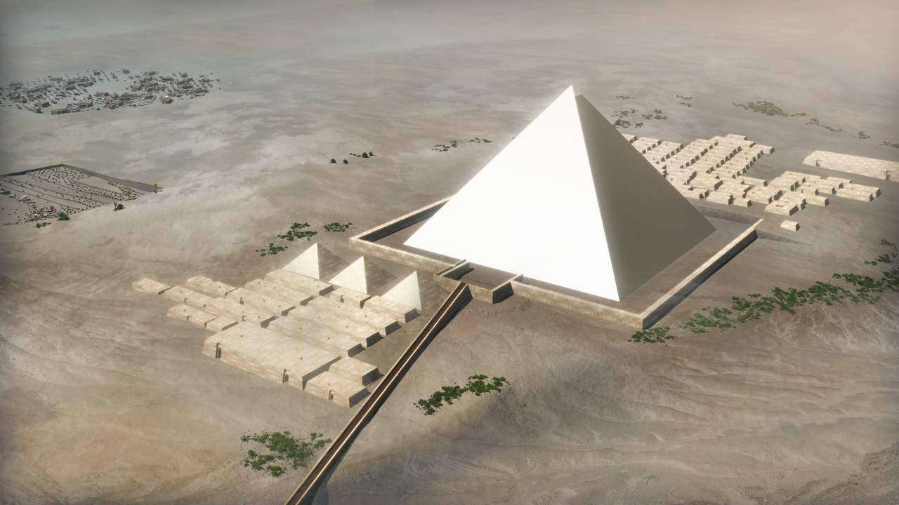 Building the Pyramids of Egypt ...a detailed step by step guide. - YouTube