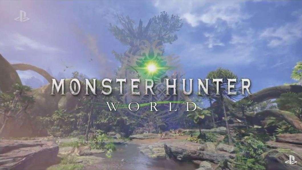 「モンハン」最新作「MONSTER HUNTER WORLD」、PS4向けに2018年発売 - ITmedia NEWS