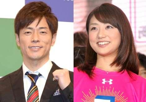 陣内智則&フジ松村未央アナが結婚「永遠に二人歩んで行く」   ORICON NEWS