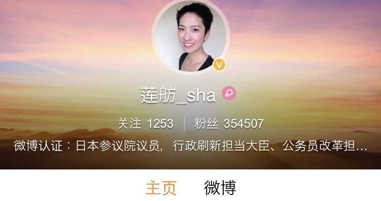 蓮舫が中国「微博」で公式アカウントを運用して35万フォロワーを獲得。日本の国会議員がなぜ中国のサイトで? | netgeek