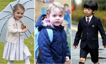 ジョージ王子&シャーロット王女、行事での愛らしい姿に英国中が熱狂