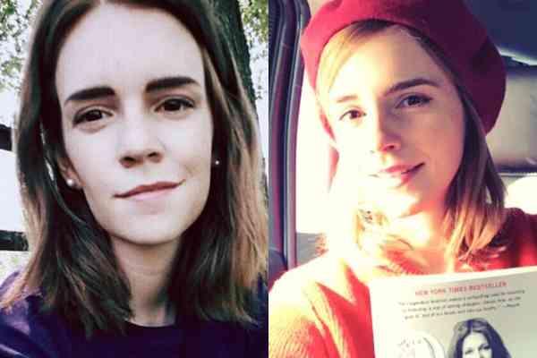 そっくりというか同じ顔…エマ・ワトソン似の一般女性が話題に