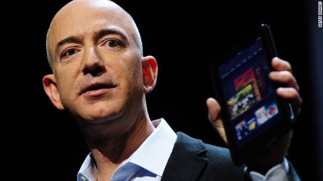 CNN.co.jp : アマゾンのベゾスCEO、あと50億ドルで「富豪世界一」に