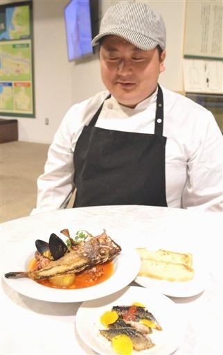 戸田の深海魚 洋風でいかが 道の駅「くるら」に食堂|静岡新聞アットエス