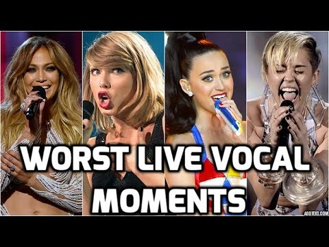 Female Singers : Worst Live Vocals - YouTube