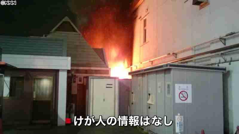 一時火柱も…小岩駅前のトイレ付近で火災(日本テレビ系(NNN)) - Yahoo!ニュース