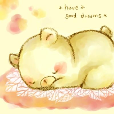 おやすみなさいと優しい言葉を掛け合うトピpart2