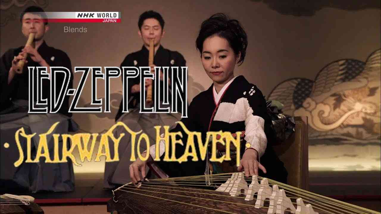 Stairway to Heaven-Led Zeppelin-Japanese Cover-Nijugen-Koto-NHK Blends - YouTube