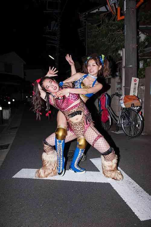 内田理央が驚きの女子プロレスラー姿 驚きのビジュアル解禁