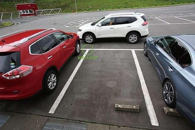 駐車時にクルマをまっすぐ駐めるコツとは?