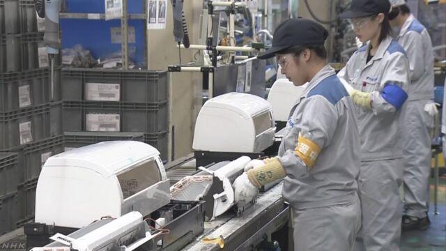 猛暑でエアコン増産 販売も強化 | NHKニュース