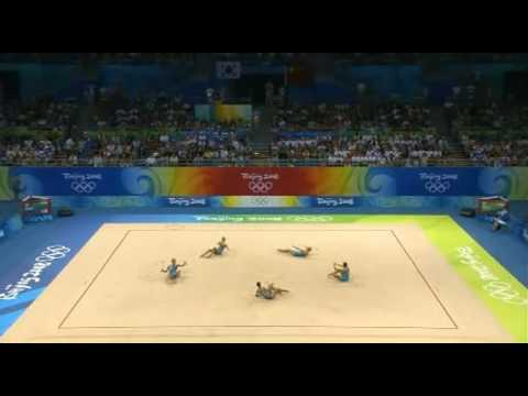 Italy 3 hoops 4 clubs 2008 olympic games Beijing Q - YouTube